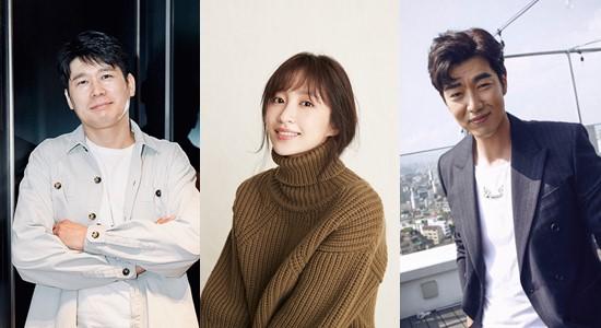 ▲강대규 감독(왼쪽부터), 하니, 이종혁. (사진제공=배리어프리영화위원회)