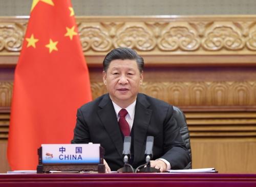 ▲시진핑 중국 국가주석이 조 바이든 미국 대통령 당선인에게 뒤늦게 축하 인사를 전했다. 신화뉴시스