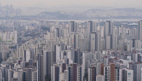 ▲서울 서대문구와 마포구 일대 아파트 모습.  (사진 제공=연합뉴스)