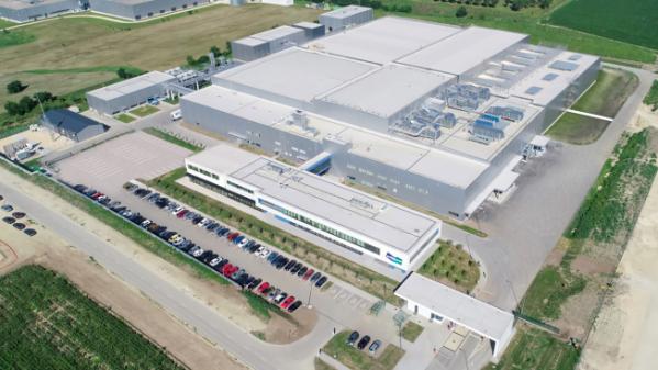 ▲두산솔루스 헝가리 공장. (사진제공=두산)