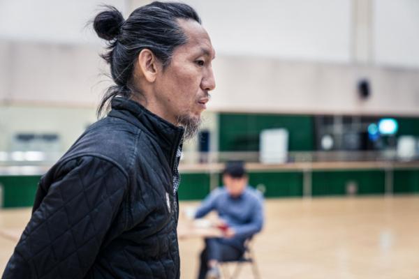 ▲연극 '왕서개 이야기' 연습장면. (사진제공=남산예술센터)