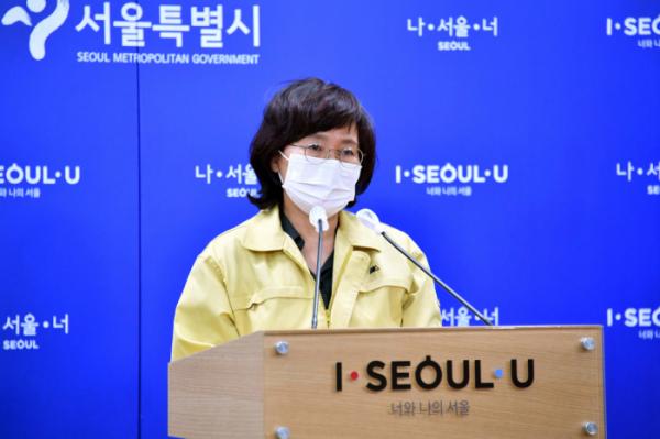 ▲박유미 서울시 재난안전대책본부 방역통제관. (뉴시스)