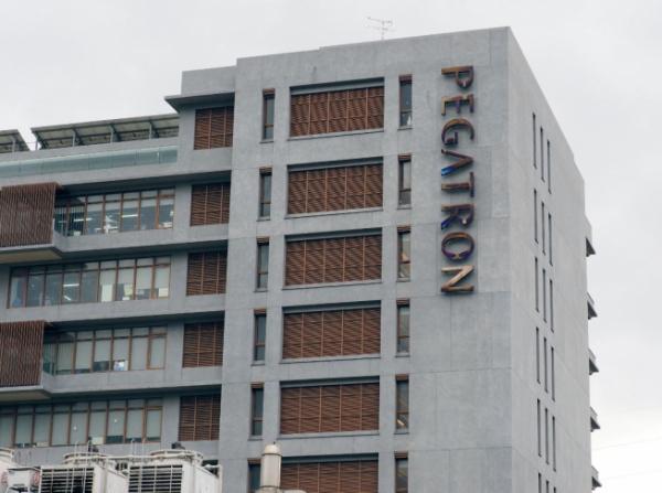▲대만 타이베이에 위치한 페가트론 본사. 블룸버그는 28일(현지시간) 애플의 제조 협력사들이 중국을 떠나 동남아로 이동하고 있다고 전했다. 타이베이/EPA연합뉴스