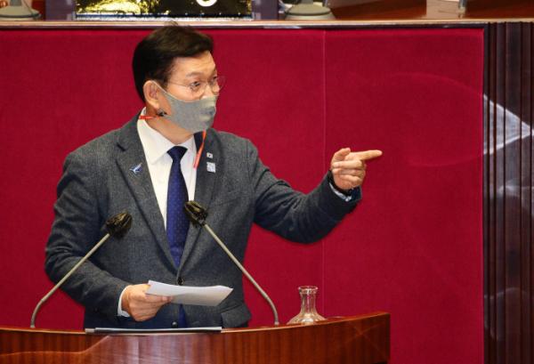 ▲송영길 더불어민주당 의원. (뉴시스)