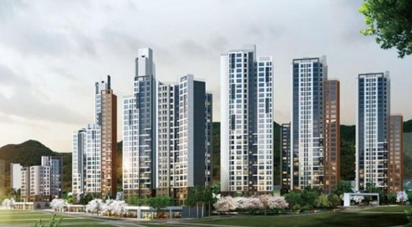 ▲3월부터 무순위 청약 자격이 해당 지역 무주택자로 제한된다. 사진은 무순위 청약 최고 경쟁률을 기록한 서울 은평구 수색증산뉴타운 'DMC 파인시티 자이'(수색6구역 재개발 아파트) 조감도. (GS건설)