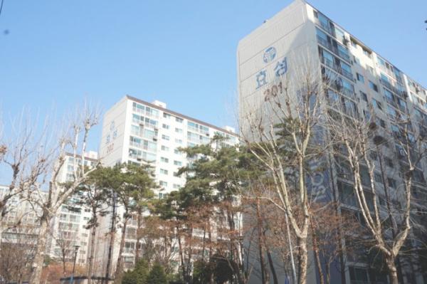 ▲서울 영등포구 당산동5가에 있는 '당산효성타운2차' 아파트 단지 전경. (출처=네이버부동산)