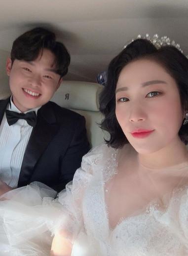 ▲김영희 결혼소감 (출처=김영희SNS)