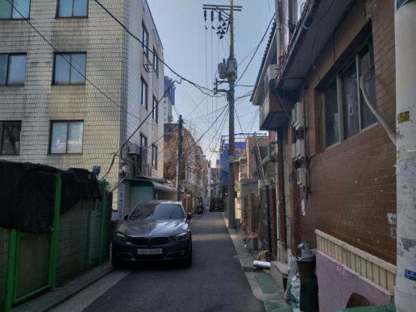 ▲서울 용산구 원효로1가 일대에 들어선 주택들 모습. (박종화 기자. pbell@)
