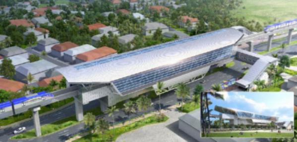 ▲현대건설 컨소시엄은 지난해 3조3000억 원 규모의 파나마 지하철 공사를 공동 수주했다. 파나마에서 추진된 인프라 건설 사업 중 역대 최대 규모다. 사진은 파나마 메트로 3호선 프로젝트 조감도. (자료 제공=현대건설)