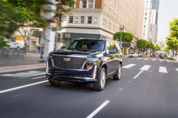 ▲캐딜락은 브랜드를 대표하는 대형 SUV '에스컬레이드'의 완전변경 모델을 선보인다.  (출처=캐딜락 미디어)