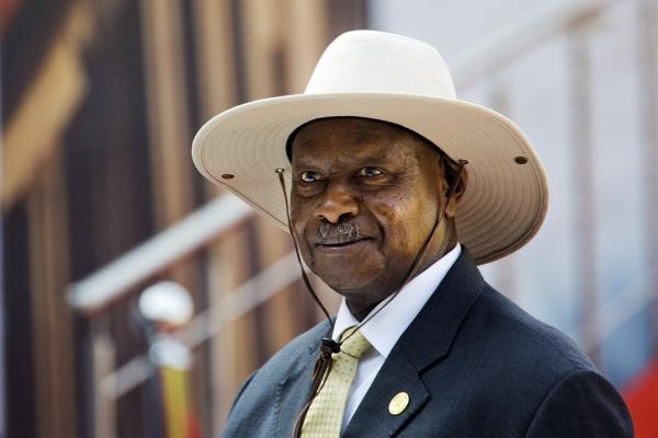 ▲요웨리 무세베니 우간다 대통령. 프리토리아/AP뉴시스
