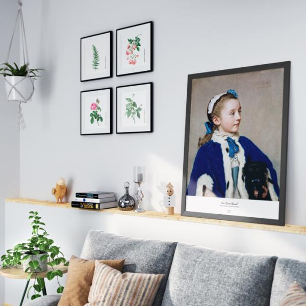 """▲'아트다 프린트'는 저렴한 가격에 클림트, 고흐, 마티스 등의 알려지지 않은 명작을 담았다. 최동훈 대표는 """"아트다 프린트가 MZ세대의 집을 '방구석 미술관'으로 변화시킬 것""""이라고 설명했다. (사진제공=아트다)"""