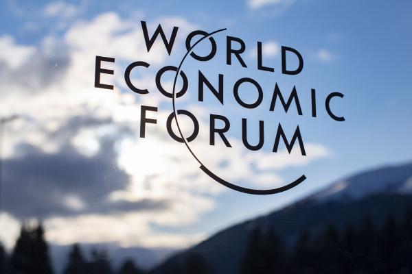 ▲세계경제포럼(일명 다보스포럼) 연례회의 로고. EPA연합뉴스