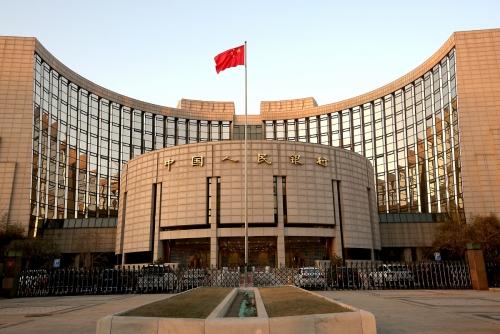 ▲중국 베이징에 위치한 인민은행 전경. 베이징/UPI연합뉴스