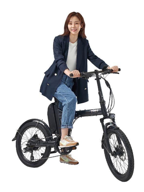 ▲알톤스포츠의 전기자전거 니모폴딩에디션  (사진제공=알톤스포츠)