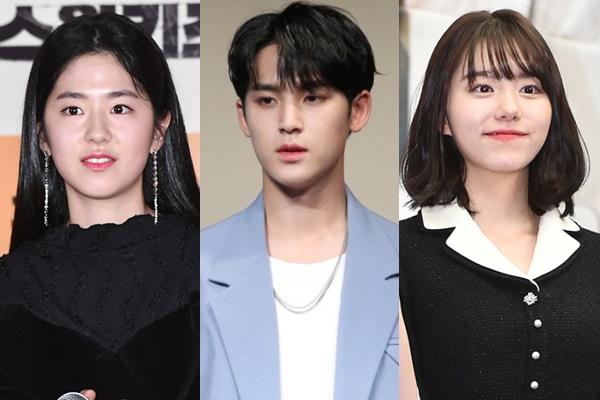 ▲(왼쪽부터)박혜수, 세븐틴 민규, 김소혜 (사진제공=비즈엔터, 연합뉴스)