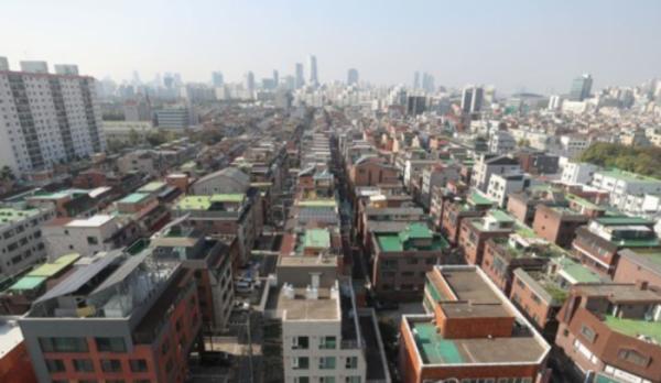 ▲서울 송파구 일대 빌라 밀집지역. (사진 제공=연합뉴스 )