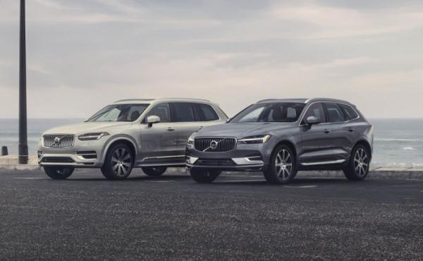 ▲볼보자동차 XC90(왼쪽), XC60(오른쪽) B6 AWD 인스크립션  (사진제공=볼보자동차코리아)