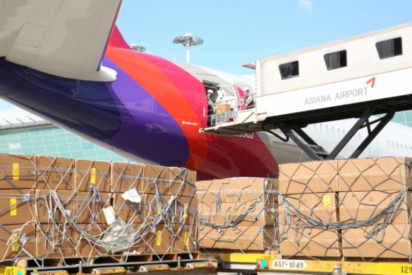 ▲아시아나항공이 A350 여객기 2대를 화물기로 추가 개조했다. (사진제공=아시아나항공)