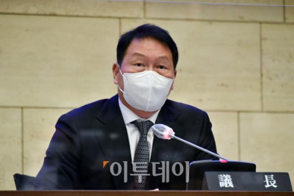 ▲최태원 SK그룹 회장 (고이란 기자 photoeran@)