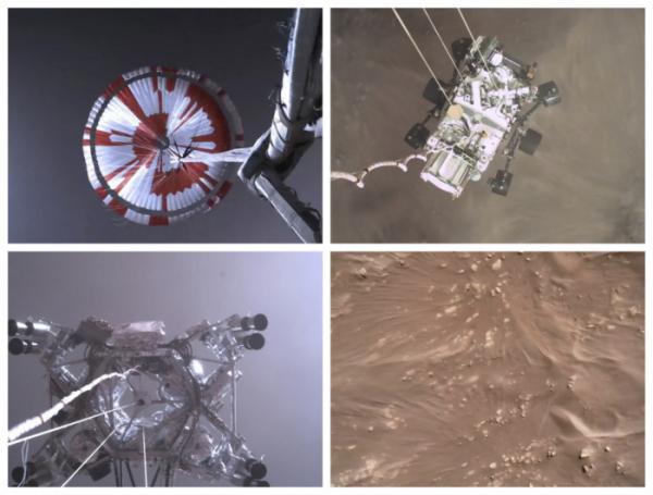 ▲미국 항공우주국(NASA)이 22일(현지시간) 탐사 로버 '퍼서비어런스'가 녹음한 화성의 바람 소리를 공개했다고 AFP통신 등이 보도했다. (AP연합뉴스)