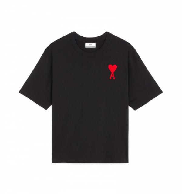 ▲아미 빅 하트 로고 반팔 티셔츠 (사진제공=머스트잇)