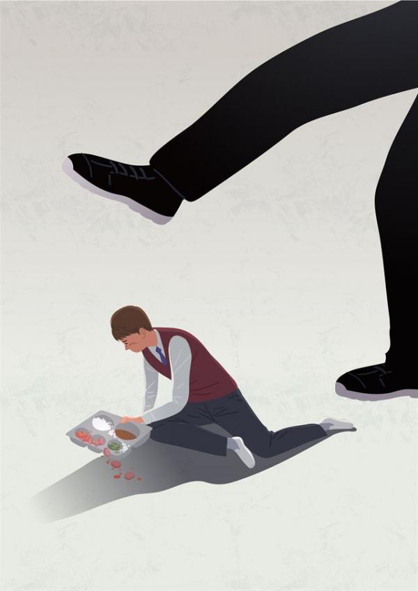 ▲교육부 등 정부가 학교 폭력을 제대로 관리·담당하지 못하고 미흡하게 대응한 것에 대한 불신이 최근 '미투(#me too·나도당했다)' 형태로 터졌다. (게티이미지뱅크)