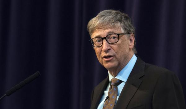 """▲마이크로소프트 설립자 빌 게이츠는 22일 """"일론 머스크보다 돈이 적다면 비트코인 투자에 주의해야 한다""""고 말했다. (EPA연합뉴스)"""