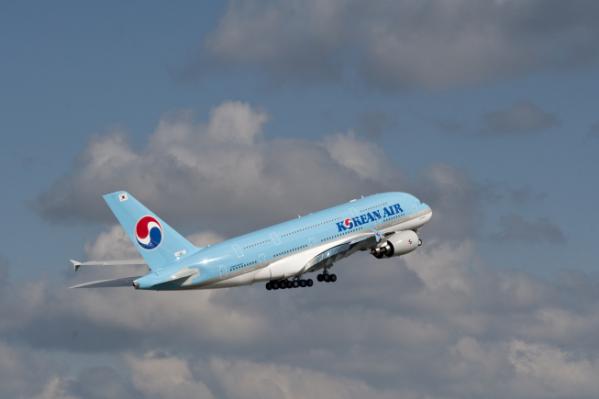 ▲대한항공 A380 항공기. (사진제공=대한항공)