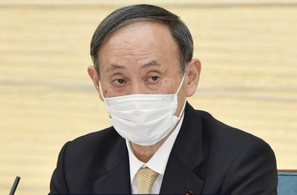 ▲스가 요시히데 일본 총리. AP연합뉴스