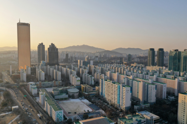 ▲서울 영등포구 여의도동 일대 아파트 단지 모습. (뉴시스)
