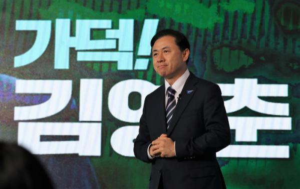 ▲더불어민주당 김영춘 부산시장 후보 (연합뉴스)