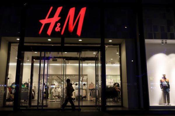 ▲24일 중국 베이징에 위치한 H&M 쇼핑몰의 모습. (로이터/연합뉴스)