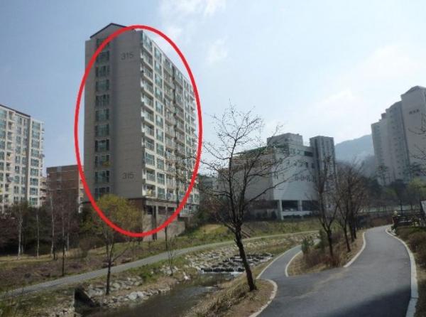 ▲서울 은평구 진관동 107 은평뉴타운마고정 아파트. (사진 제공=지지옥션)