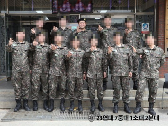 ▲김호중 퇴소 (출처=육군훈련소 홈페이지)