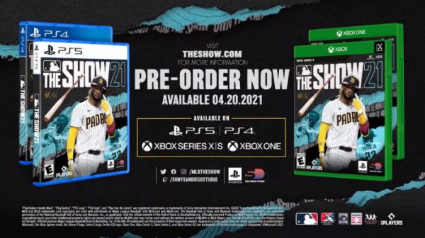 ▲소니 플레이스테이션의 독점 스포츠게임 시리즈로 유명한 콘솔 야구게임 'MLB 더 쇼 21'이 출시 당일 Xbox 게임패스로 향한다. (사진출처=MLB 유튜브 채널 캡처)