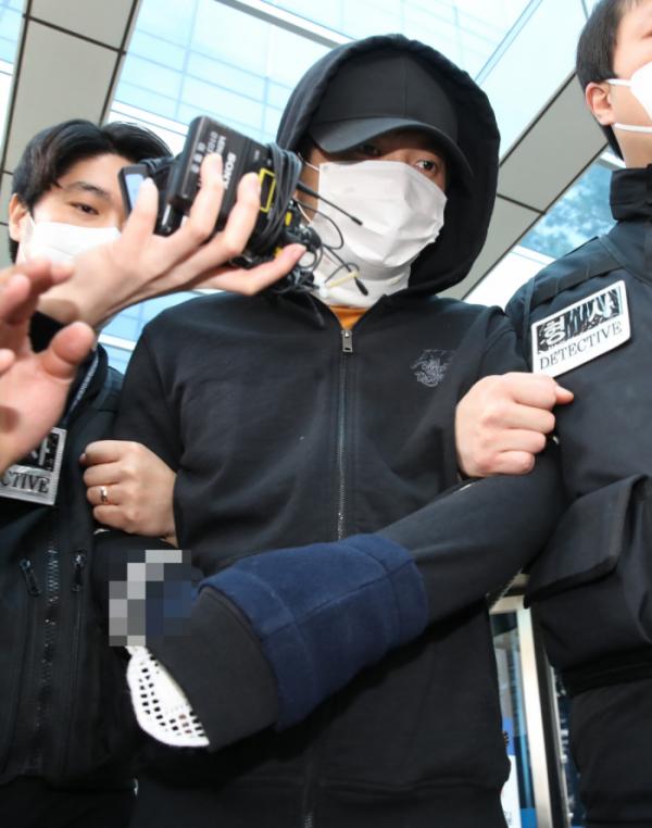 ▲'세모녀 살해범' 김태현 (뉴시스)