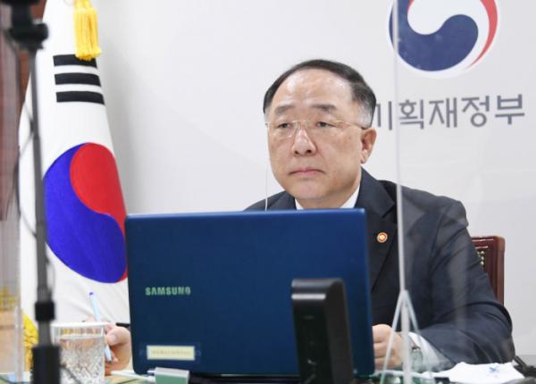 ▲홍남기 부총리 겸 기획재정부 장관 (사진제공=기획재정부)