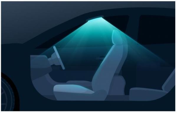 ▲자외선을 활용한 UV 램프도 대안 가운데 하나다. 이 역시 운전자 또는 동승객이 내리면 일정 시간 스스로 작동한다.  (사진제공=현대차그룹)
