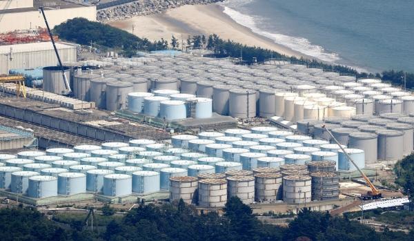▲일본 후쿠시마 제1원전 오염수 탱크. 연합뉴스