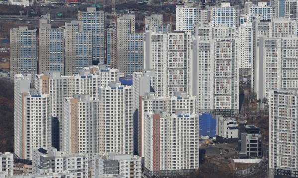 ▲경기도 아파트 단지 모습. (연합뉴스)