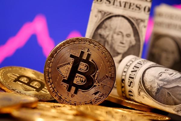 ▲비트코인과 달러. 로이터연합뉴스