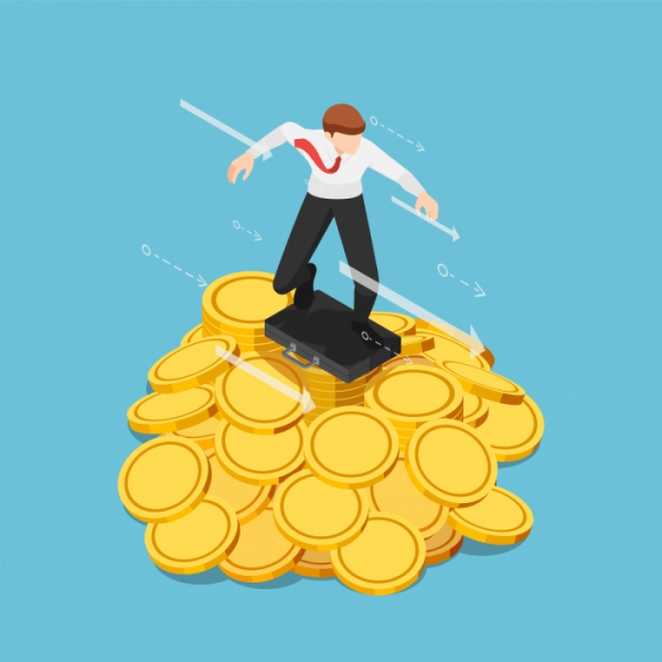 ▲가상화폐 광풍 속에 수상한 다단계 코인 영업이 기승을 부리면서 전문 지식 없는 투자자들의 피해가 우려되고 있다. (게티이미지뱅크)