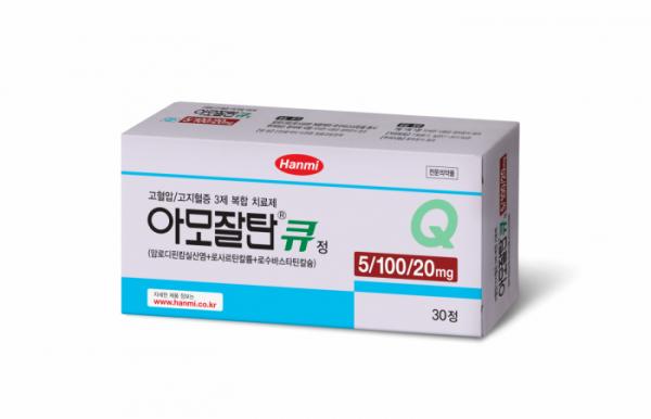 ▲아모잘탄큐 (사진제공=한미약품)