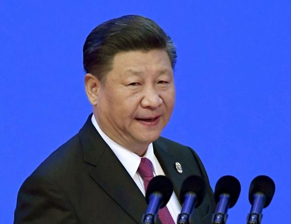 ▲2018년 4월 10일 시진핑 중국 국가주석이 보아오포럼에 참석해 기자회견을 하고 있다. 베이징/AP뉴시스