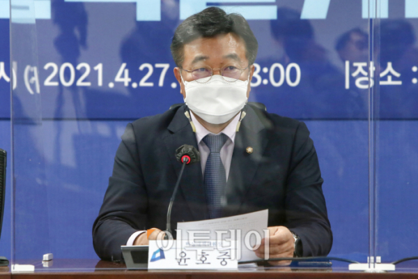▲윤호중 더불어민주당 비상대책위원장 겸 원내대표