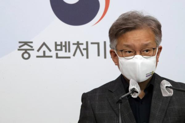 ▲권칠승 중소벤처기업부 장관.  (연합뉴스)