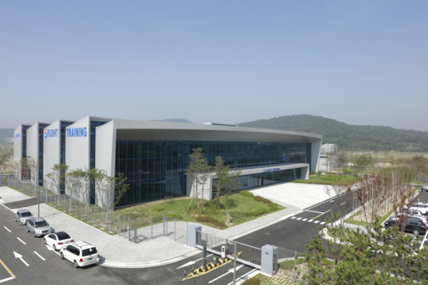 ▲인천 영종도에 위치한 대한항공 운항훈련센터. (사진제공=대한항공)