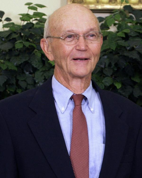 ▲마이클 콜린스가 2009년 7월 20일(현지시간) 아폴로 11호 달 착륙 40주년을 맞아 백악관 기념식에 참석했다. 워싱턴D.C./AP연합뉴스
