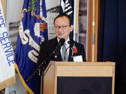 ▲우야마 도모치카 신임 WTO 사무총장 선임보좌관. 출처 주샌프란시스코 일본 총영사관 홈페이지